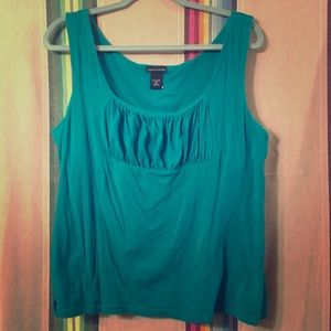 XL turquoise Moda International Tank